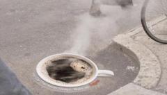 Campaña publicitaria de tiendas de café